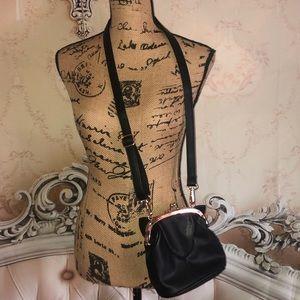 Handbags - Classic Black Cat Coin purse Style Crossbody